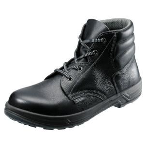 安全靴 作業靴 SS22 黒(23.5〜29.0cm(EEE)) シモンスターシリーズ SX3層底 中編上靴 セフティシューズ シモン(Simon) お取寄せ w-shokai