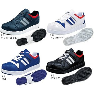 安全靴 作業靴 85114(22.0〜29.0cm) セーフティースニーカー ワーキングシューズ ジーベック(XEBEC) お取寄せ|w-shokai