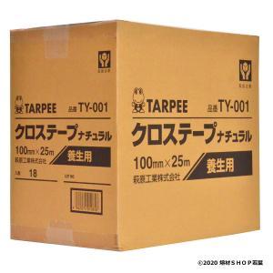 ターピークロステープ「TY-001/クリア」38幅×25m(36巻) 萩原工業|w-shop-wakaba