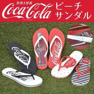 コカ・コーラ ビーチサンダル w-village