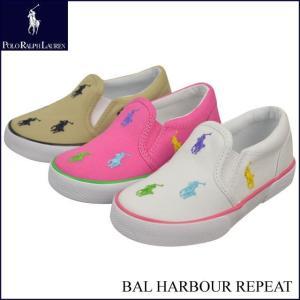 Polo Ralph Lauren ポロ ラルフローレン キッズシューズ BAL HARBOUR REPEAT 子供 スニーカー|w-village