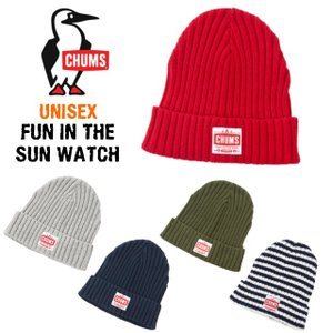 CHUMS チャムス Fun In The Sun Watch CH05-1038【ゆうパケット可】1個まで w-village