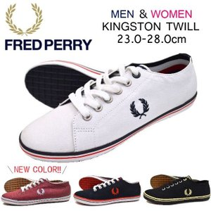 FRED PERRY フレッドペリー スニーカー B6259 The Original Kingston Twill|w-village