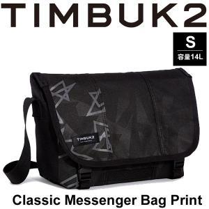 メッセンジャーバッグ TIM BUK2 ティンバック2 Classic Messenger クラッシック メッセンジャーバッグ プリント Sサイズ 14L/198429048【取寄せ】|w-w-m