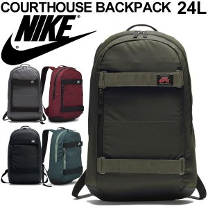 バックパック ナイキ NIKE SB エスビー コートハウス 24L リュックサック デイパック スケボー スポーツバッグ メンズ レディース かばん パソコン収納/BA5305|w-w-m