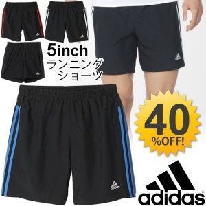 アディダス adidas ランニングショーツ 5インチ メンズ ショートパンツ 紳士 男性用スポーツ トレーニング ウェア/BJN58|w-w-m