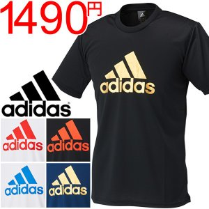 アディダス メンズ 半袖 Tシャツ adidas M BADGE OF SPORTS PES TEE ランニング ジョギング トレーニング ジム ウェア 男性 トップス スポーツウェア/DJF46 w-w-m