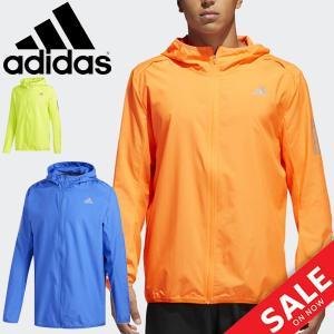 ウィンドブレーカー ジャケット メンズ/アディダス adidas RESPONSE フード付ウインドジャケット/男性/DKT28|w-w-m