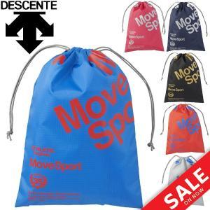 マルチバッグ Mサイズ DESCENTE デサント スポーツバッグ 巾着タイプ メンズ レディース キッズ ランドリーバッグ 靴入れ/ DMANJA34|w-w-m