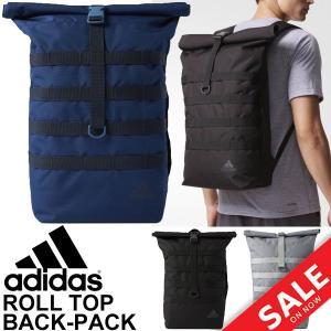 バックパック アディダス adidas リュックサック デイパック ロールトップ 16L スポーツバッグ メンズ ユニセックス カジュアル かばん 通勤 ストリート/DMC95|w-w-m