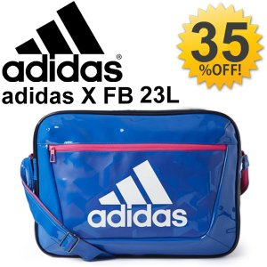 エナメルバッグ メンズ レディース アディダス adidas スポーツバッグ 23L ショルダーバッグ 肩掛け サッカー フットボール 鞄 かばん /DML68|w-w-m