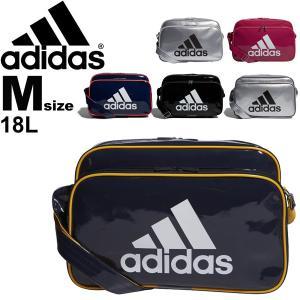 エナメルバッグ ショルダーバッグ/アディダス adidas スポーツバッグ Mサイズ レディース メンズ 肩掛け 斜めがけ 部活 通学 学生 ジムバッグ かばん/ETX12|w-w-m