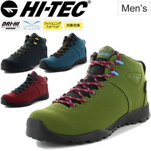 ブーツスニーカー メンズ /ハイテック HI-TEC AORAKI CLASSIC/ミッドカット 透湿防水 男性用 カジュアル アウトドア/HT-HKU13 w-w-m
