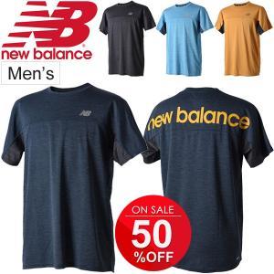 6705dd49f2168 Tシャツ 半袖 メンズ ニューバランス new balance R360 ヘザーグラフィック TEE/ランニング ジョギング 男性用/JMTR8615