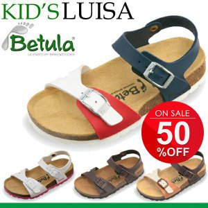 ビルケンシュトック ビルケン BIRKENSTOCK キッズサンダル 子供用 シューズ 靴 正規品 Betula LUISa ルイーザ|w-w-m