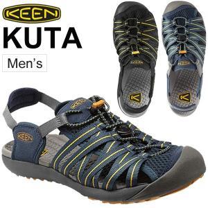 メンズサンダル KEEN キーン クタ KUTA/男性用 靴 水陸両用 くつ アウトドア トラベル レジャー キャンプ ウォータフロント|w-w-m