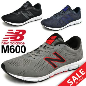 ランニングシューズ メンズ new balance ニューバランス ジョギング マラソン ジムトレーニング 男性 D幅 靴 スニーカー カジュアル 運動靴 正規品/M600|w-w-m