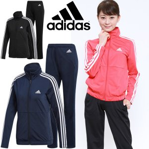 ジャージ 上下セット レディース/アディダス adidas W BACK2BAS 3Sトラックスーツ/トレーニングウェア/MMJ93|w-w-m
