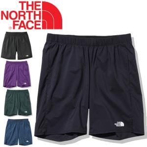 ランニング ハーフパンツ メンズ ザノースフェイス THE NORTH FACE 男性 マラソン ジョギング トレーニング ジム シンプル ワンポイント/NB41877 w-w-m