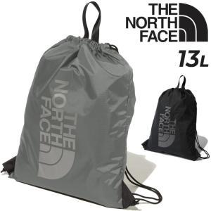ナップサック THE NORTH FACE ザノースフェイス ナイロンバッグ 13L ジムサック リュックサック 巾着 スポー ジム アウトドア カジュアル 旅行 かばん/NM61724|w-w-m