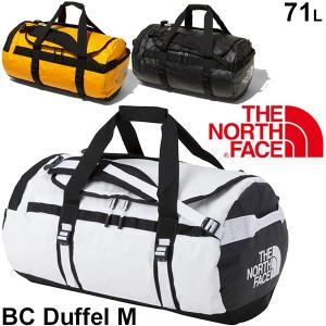 ダッフルバッグ THE NORTH FACE ベースキャンプ ノースフェイス BCシリーズ ボストンバッグ Mサイズ 71L バックパック アウトドア メンズ レディース/ NM81814|w-w-m