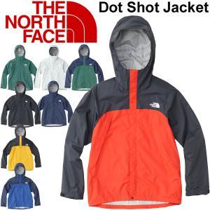 アウトドア ジャケット メンズ ザノースフェイス THE NORTH FACE ドットショットジャケット/防水 ハードシェル 男性用 アウター フード付き/ NP61830|w-w-m