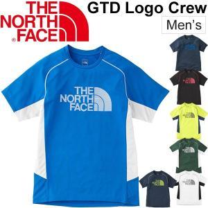Tシャツ 半袖 メンズ ザノースフェイス THE NORTH FACE ショートスリーブ GTDロゴ クルーネック ランニング ジョギング/NT11797|w-w-m