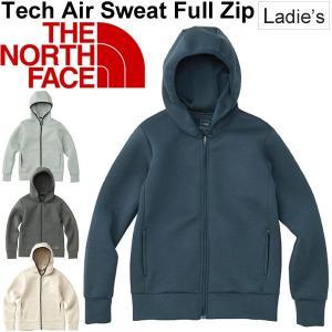 スウェット パーカー レディース ザノースフェイス THE NORTH FACE Tech Air フルジップ フーディ 女性用 トレーニングウェア 正規品/NTW11786|w-w-m