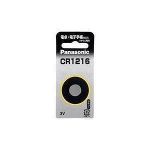 ボタン電池 CR1216P パナソニック コイン電池 w-yutori