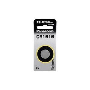 ボタン電池 CR1616P パナソニック コイン電池 w-yutori