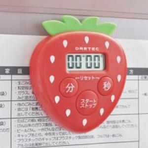 DRETEC イチゴタイマー T-505RD w-yutori