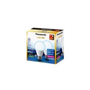LED 電球 E26 パナソニック  40w 相当 4.4W 昼光色相当  2個入り LDA4DGK40ESW2T|w-yutori