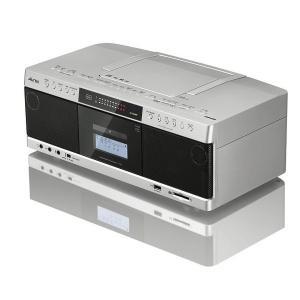 東芝 Aurex(オーレックス) ハイレゾ対応SD/USB/CDラジオカセットレコーダー サテンゴールド ワイドFM対応|w-yutori