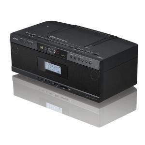 東芝 Aurex(オーレックス) ハイレゾ対応SD/USB/CDラジオカセットレコーダー ブラック ワイドFM対応|w-yutori