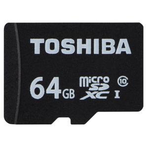 東芝 microSDカード マイクロSD 64GB CLASS10 USH-I MSDAR40N64G(SDAR40Nシリーズ)|w-yutori