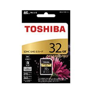 東芝 SDXU-D032G SDHC/SDXCメモリカード 「EXCERIA PRO」 32GB|w-yutori