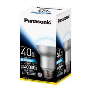 LED電球 5.0W 昼光色相当 レフ電球40W形相当 115lm E26口金 LDR5DW パナソニック panasonic|w-yutori