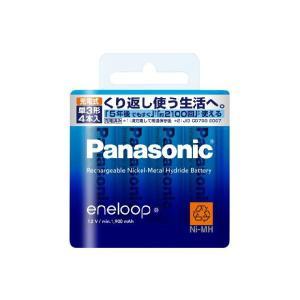 充電池 単3 4本 エネループ ニッケル水素充電池 パナソニック スタンダードモデル  BK-3MCC/4 w-yutori
