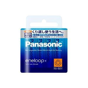 充電池 単4 エネループ 4本 ニッケル水素充電池 パナソニック スタンダードモデル BK-4MCC/4 w-yutori