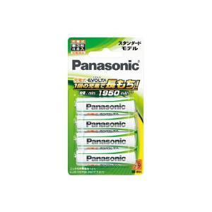 充電池 単3 4本 パナソニック ニッケル水素充電池 エボルタ スタンダードモデル BK-3MLE/4B