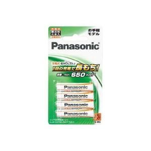 充電池 単4 ニッケル水素充電池 パナソニック エボルタ 4本 お手軽モデル BK-4LLB/4B|w-yutori