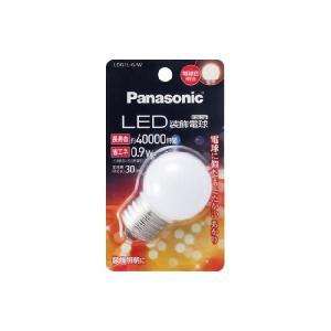 LED装飾電球 0.9W 電球色相当 LDG1LGW パナソニック|w-yutori