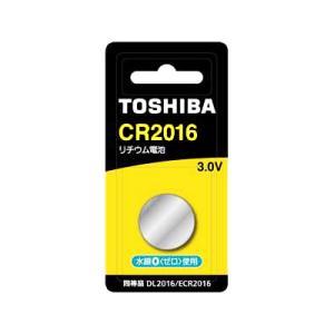 コイン電池 cr2016b 東芝 コイン形リチウム電池 3.0V (1個入) w-yutori