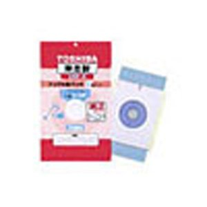 純正紙パック:東芝 掃除機専用紙パック 5枚入り VPF-5|w-yutori