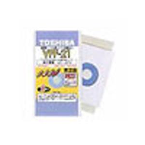 純正紙パック:東芝 掃除機専用紙パック 5枚入り VPF-21|w-yutori