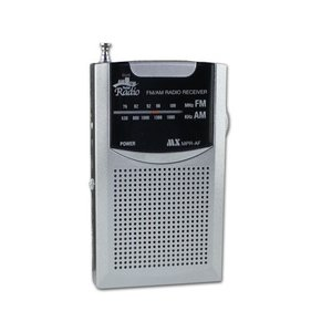 AM/FM ポケットラジオ  マクサー電機 MPR-AF|w-yutori