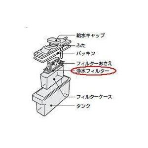 シャープ 冷蔵庫用 浄水フィルター(201 337 0070)|w-yutori