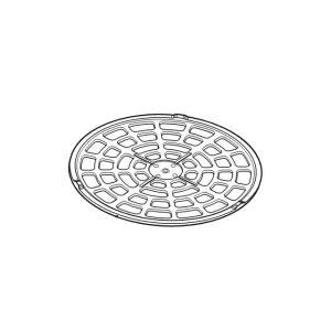 パナソニック Panasonic 電子レンジ ターンテーブル(丸皿) の受け台(あみ)A201F-10N0|w-yutori