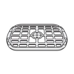 パナソニック Panasonic 電子レンジ ターンテーブル(丸皿) の受け台(あみ)A201F-1E60|w-yutori