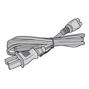 パナソニック液晶テレビBS/CSデジタルチューナー電源コード電源ケーブルK2CA2CA00024 (...